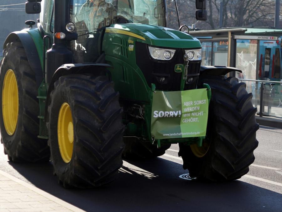 Bewegung Land schafft Verbindung verlangt andere Agrarpolitik