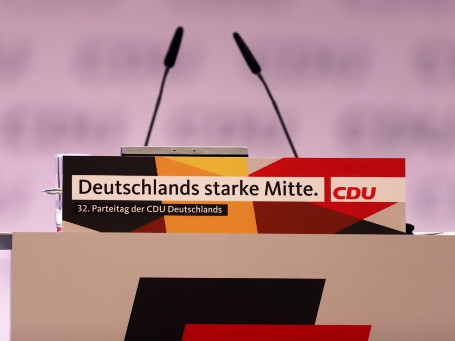 CDU-Präsidium verständigt sich auf Parteitagsabsage