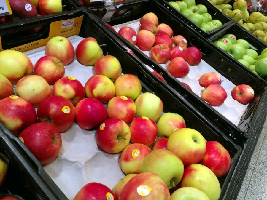 Apfelernte im Jahr 2020 gestiegen