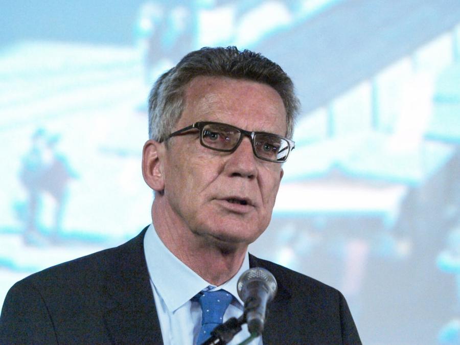 De Maizière hält Vergrößerung des Innenministeriums für falsch