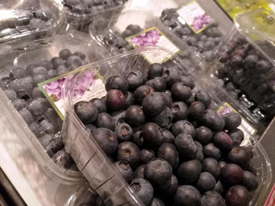 Erntemenge von Heidelbeeren stark gestiegen