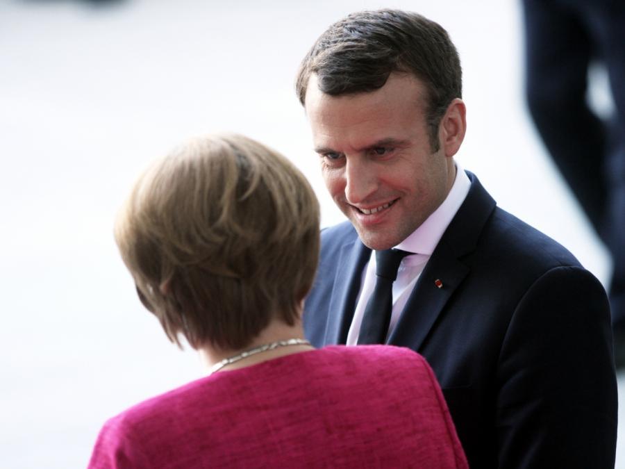 Merkel und Macron demonstrieren Einigkeit - Euozonen-Budget geplant