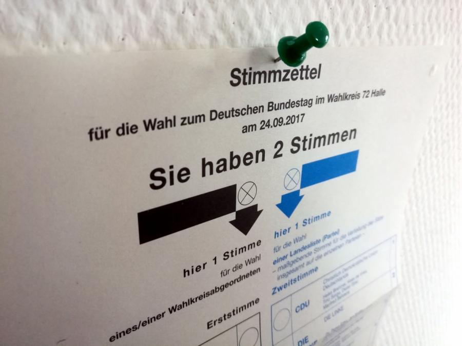 Stimmensplitting bei Bundestagswahl so stark genutzt wie noch nie