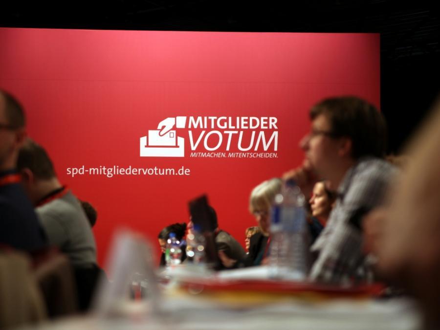 SPD-Linke fordern Urabstimmung über große Koalition