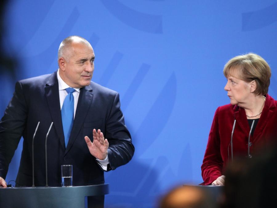 Merkel verspricht Borissow: Zeitnah mit der Türkei sprechen