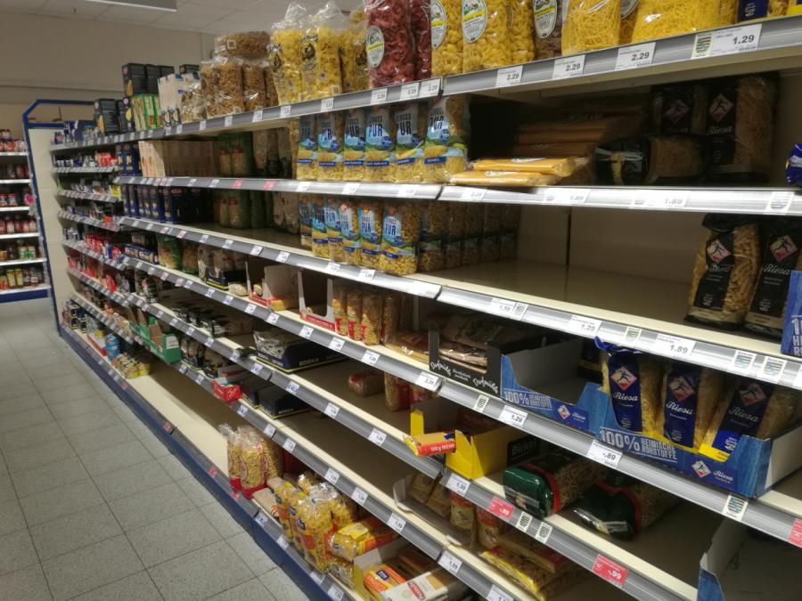 Preisauftrieb verlangsamt sich - Nahrungsmittel teurer