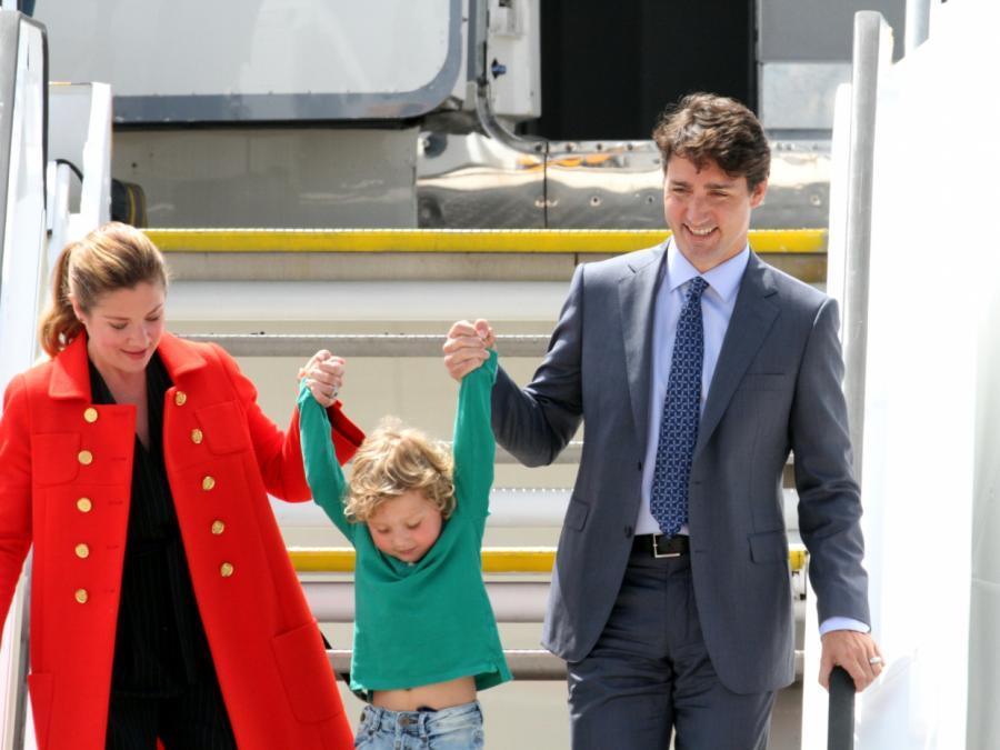 Frau von Kanadas Ministerpräsident mit Coronavirus infiziert