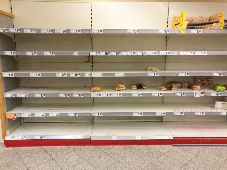 Handelsverband Lebensmittel sieht keinen Grund für Hamsterkäufe