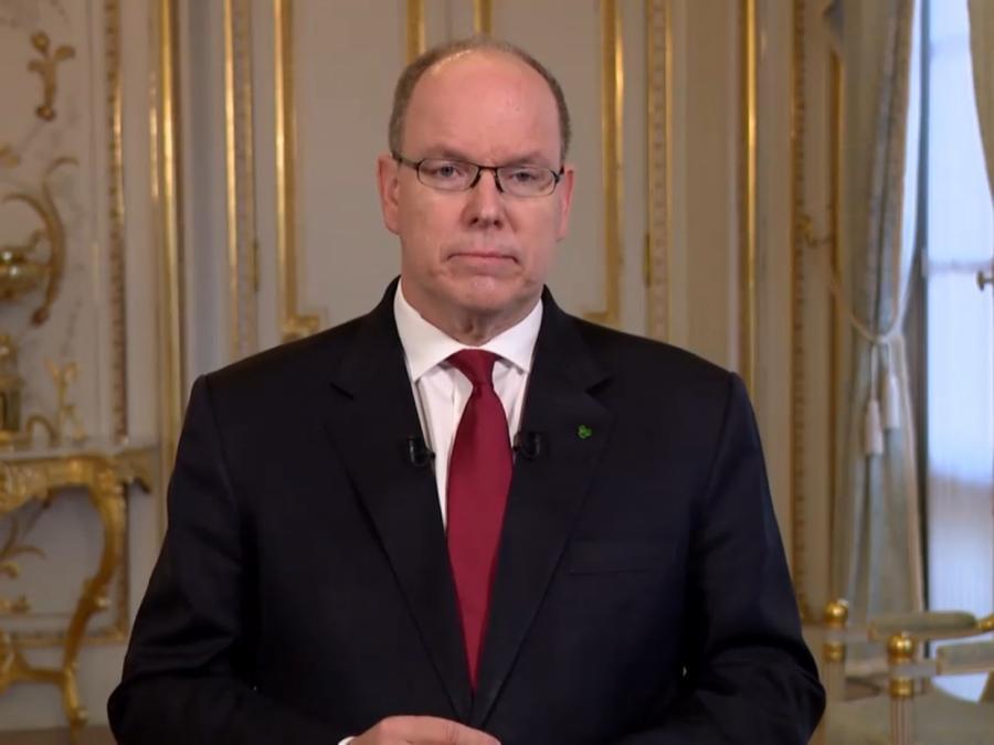 Fürst von Monaco mit Coronavirus infiziert