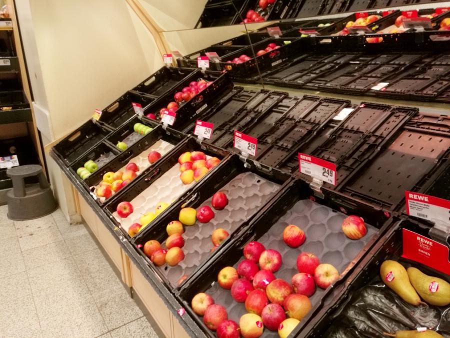 Obst- und Gemüseimporte angeblich nicht in Gefahr