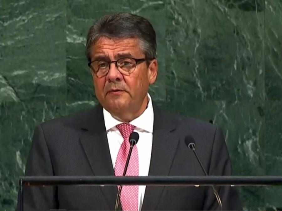 Gabriel wirbt vor Vereinten Nationen für mehr Zusammenarbeit