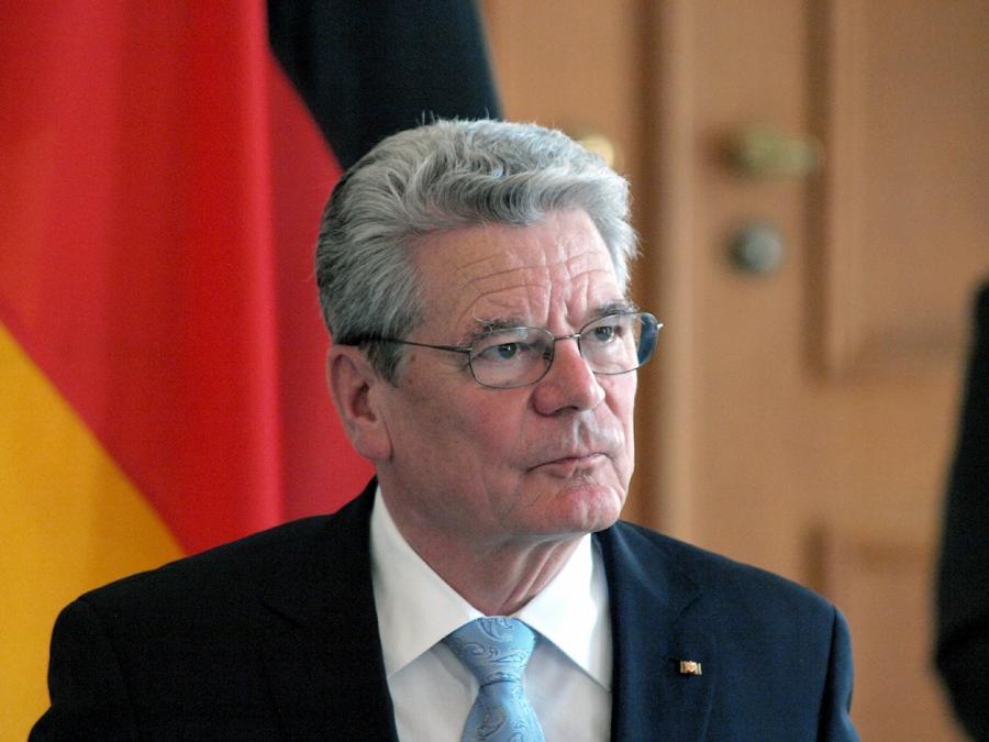 Senftleben unterstützt Thesen von Alt-Bundespräsident Gauck