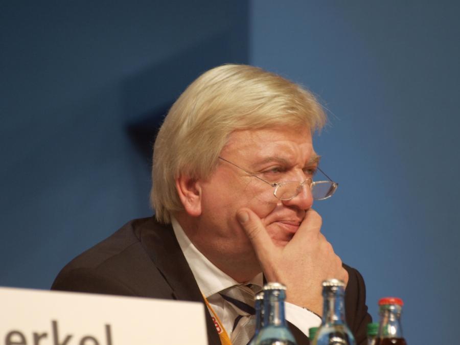 Bouffier warnt Union vor Kursdebatte