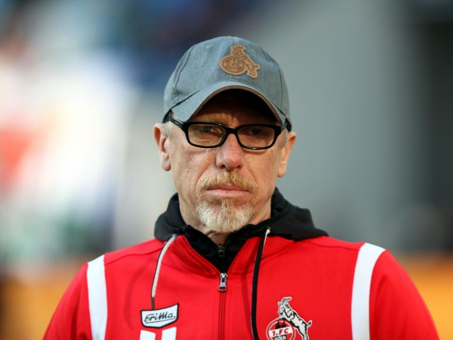 Köln-Trainer Peter Stöger will seine Linie nicht ändern