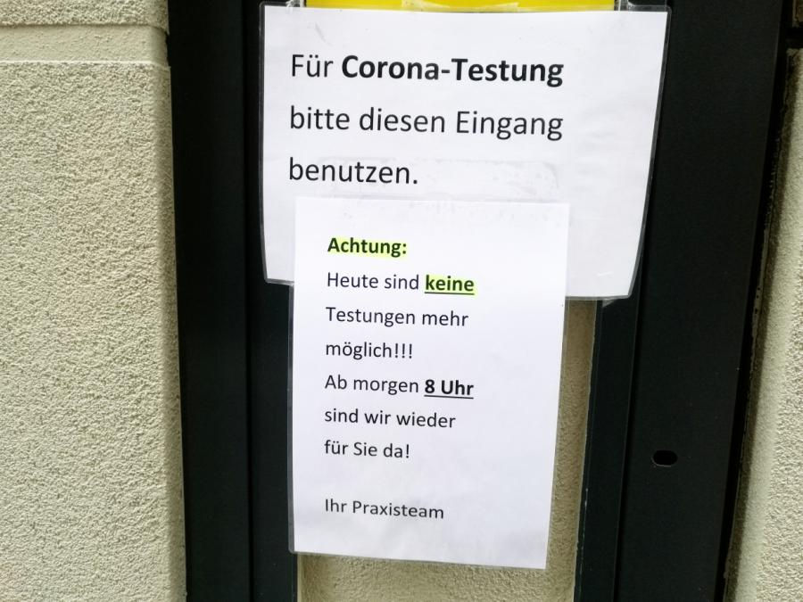 Weil dämpft Erwartungen an Corona-Tests