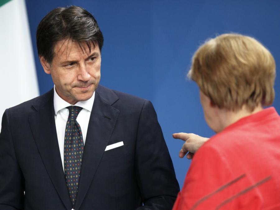 Merkel und Conte pochen auf schnelle Einigung beim EU-Gipfel