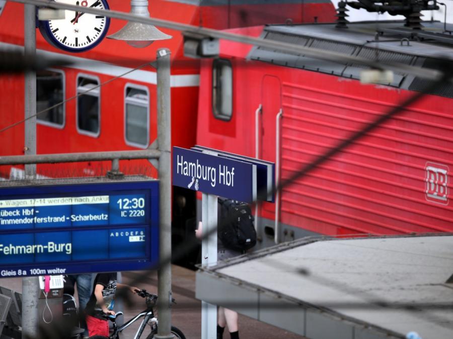 Sturm beeinträchtigt Zugverkehr in Nord- und Mitteldeutschland