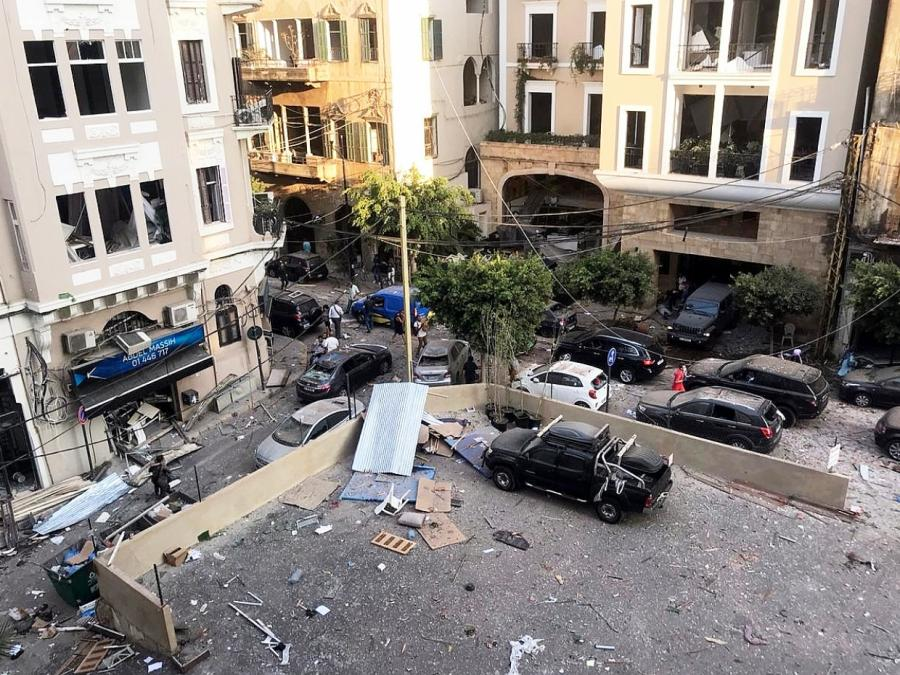 Libanesische Regierung tritt nach Explosionskatastrophe zurück