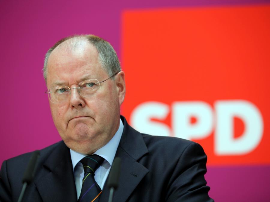 Steinbrück warnt SPD-Spitze vor Demontage von Scholz