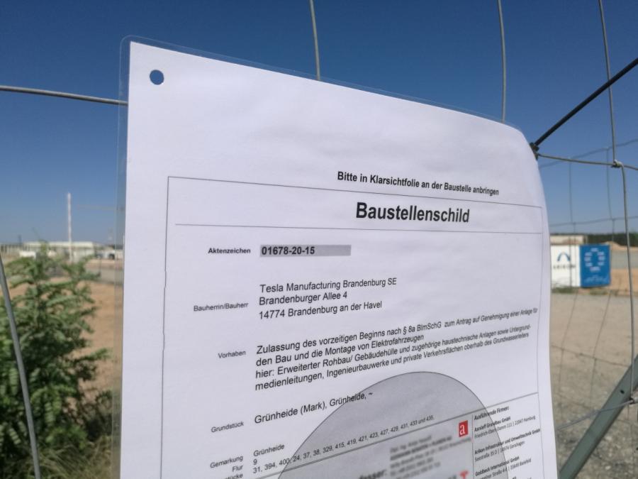 Deutsche Firma hilft bei Tesla-Bau in Brandenburg mit