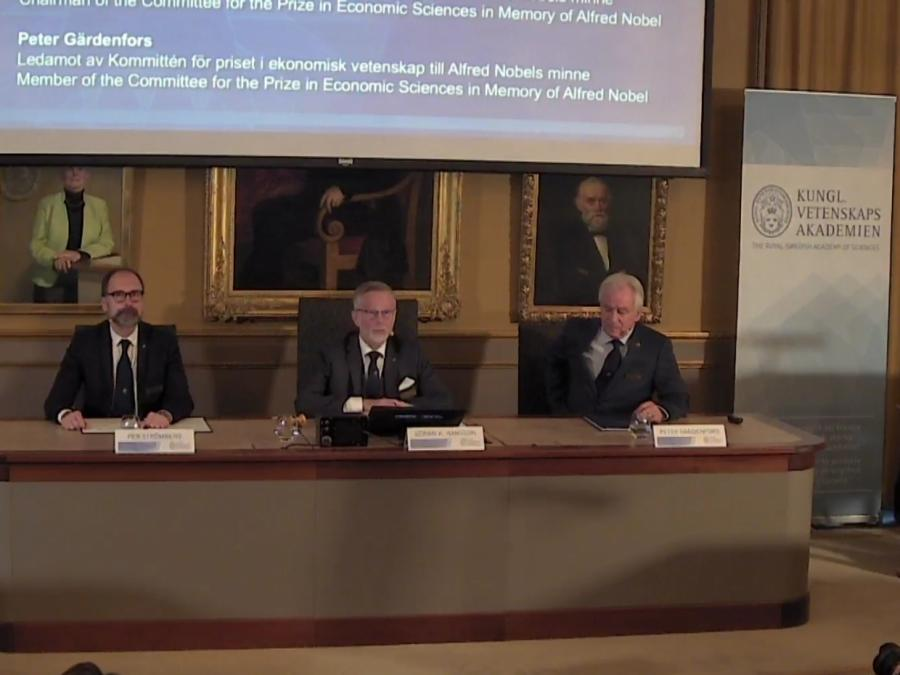 Wirtschaftsnobelpreis geht an US-Verhaltensökonom Thaler