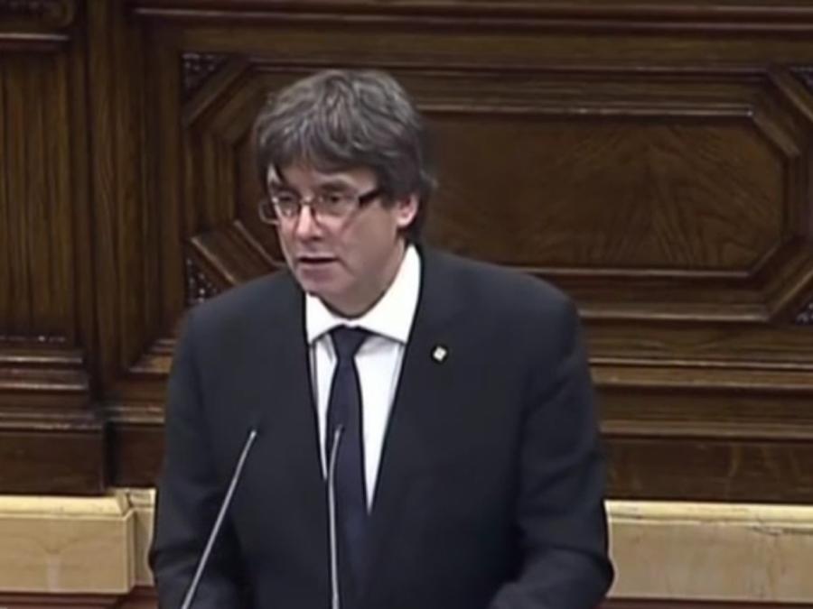 Puigdemont stellt sich belgischer Polizei