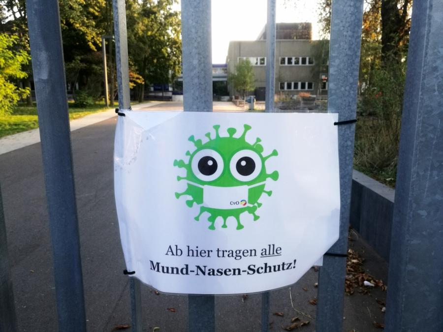 NRW führt Maskenpflicht im Unterricht wieder ein