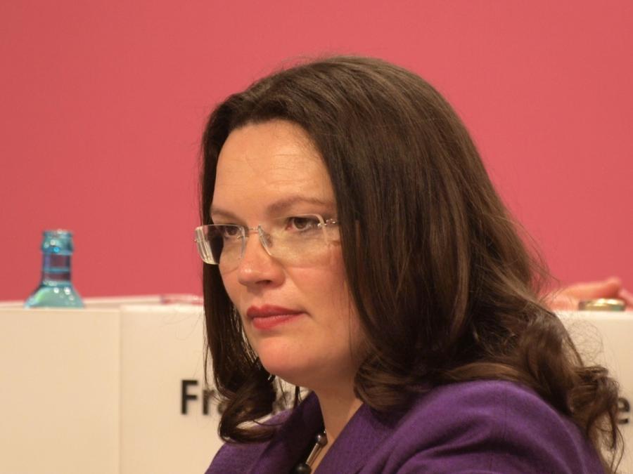 SPD-Politikerin Lange: Habe persönlich nichts gegen Nahles