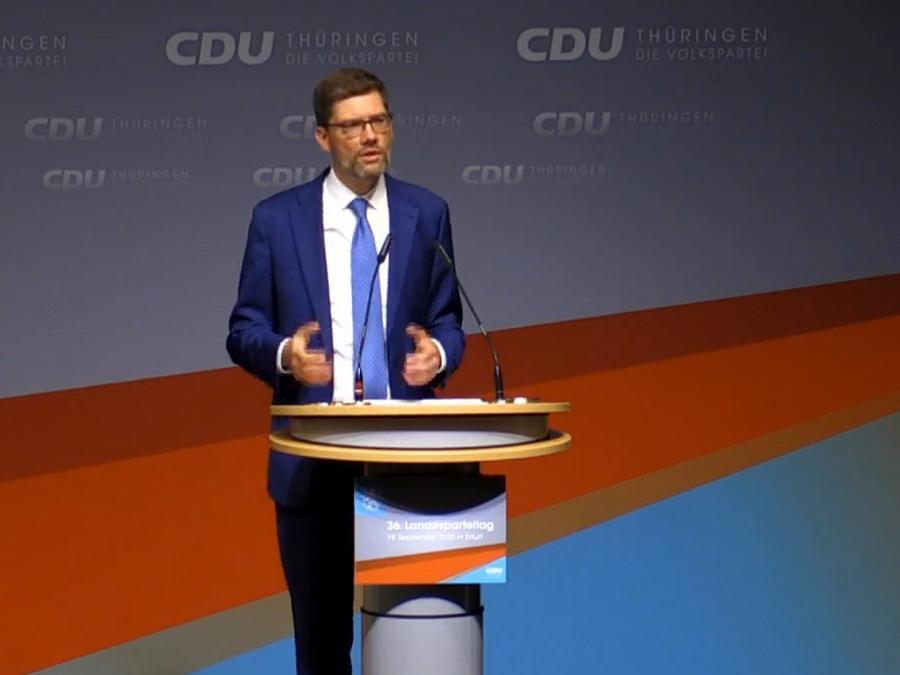 Hirte neuer Chef der Thüringen-CDU