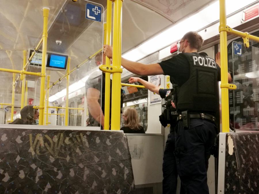 GdP: 71.000 Ermahnungen gegen Maskenmuffel in Bahnhöfen und Zügen