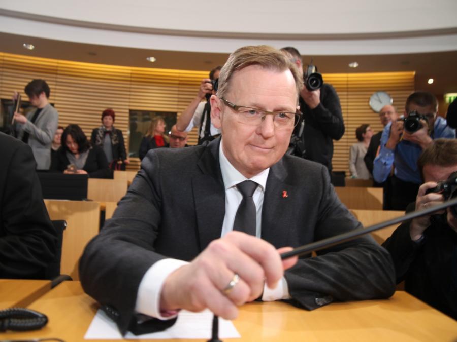 Landesregierung in Thüringen nach Sprengstofffunden unter Druck