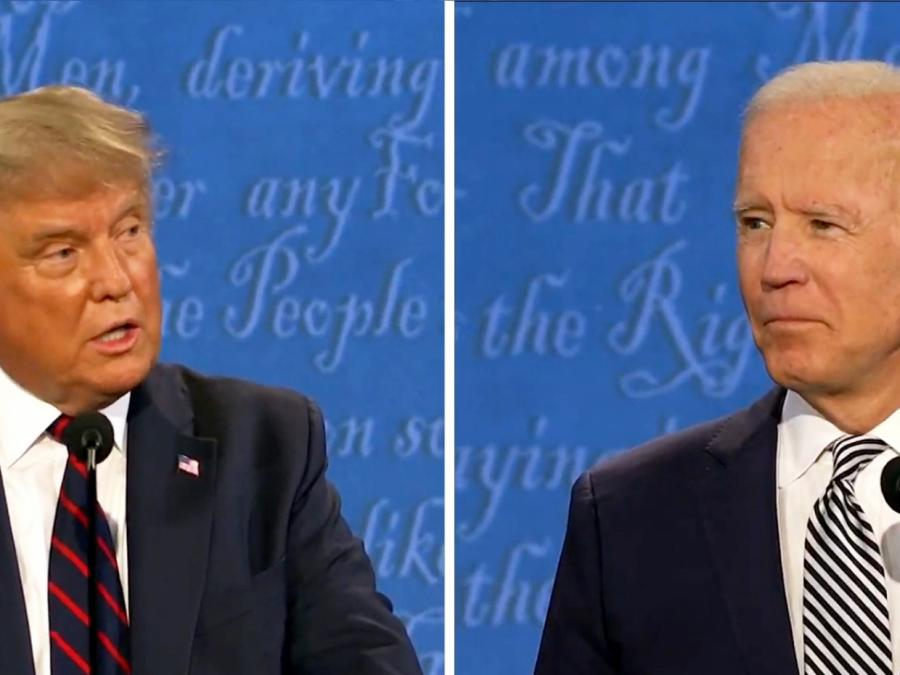 Zweites TV-Duell zwischen Trump und Biden endgültig abgesagt