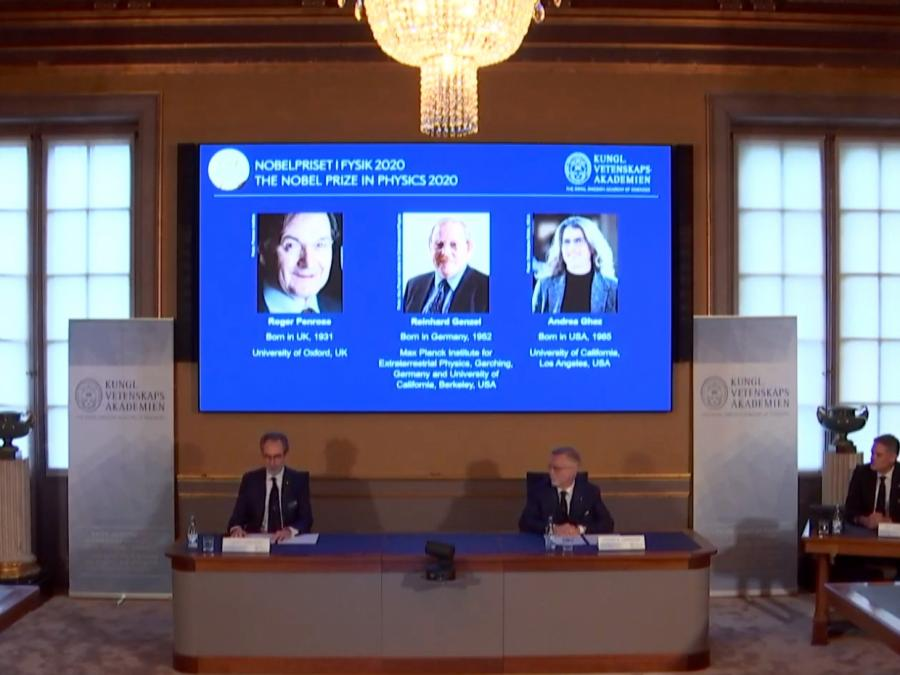 Deutscher Astrophysiker erhält Physik-Nobelpreis