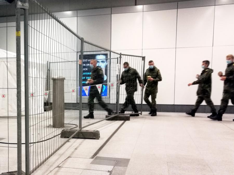 Bundeswehr kann 18.000 Menschen pro Tag gegen Corona impfen