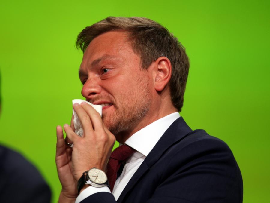 FDP-Chef Lindner von