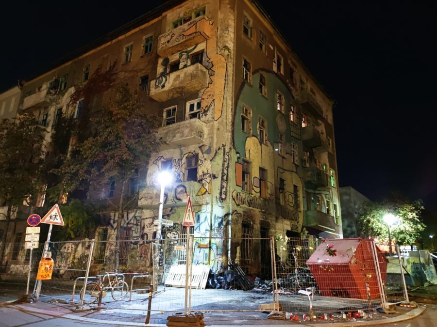 Streit um Liebig34 geht weiter - Wieder Randale in Berlin