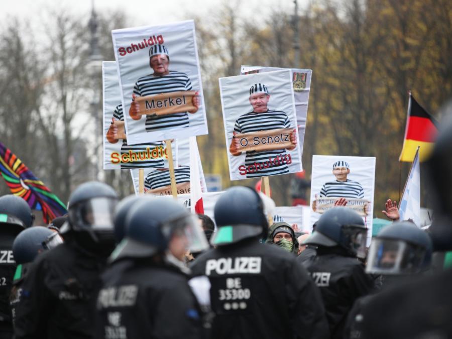 BKA warnt vor Radikalisierung der Corona-Proteste