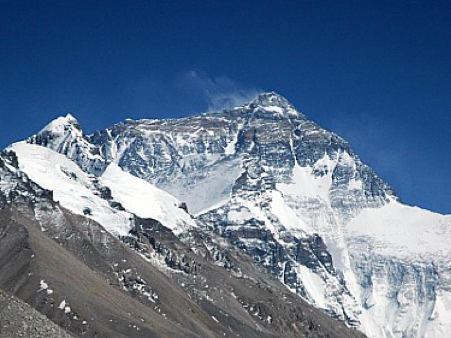 Mount Everest ein paar Zentimeter höher