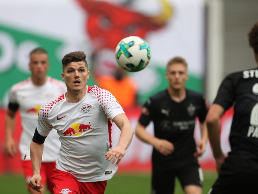 1. Bundesliga: Leipzig gewinnt gegen Stuttgart