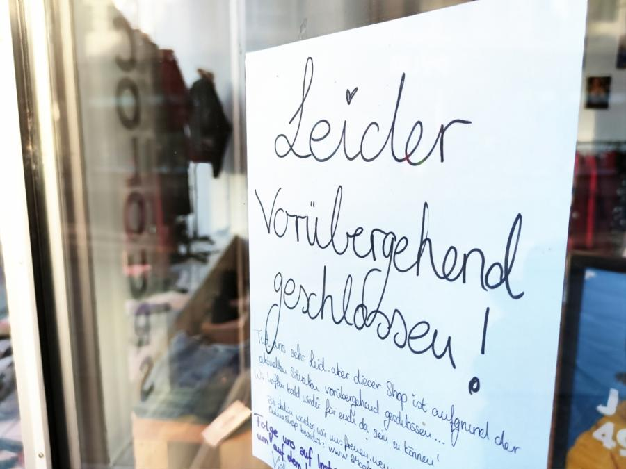 HDE: Hälfte geschlossener Geschäfte in