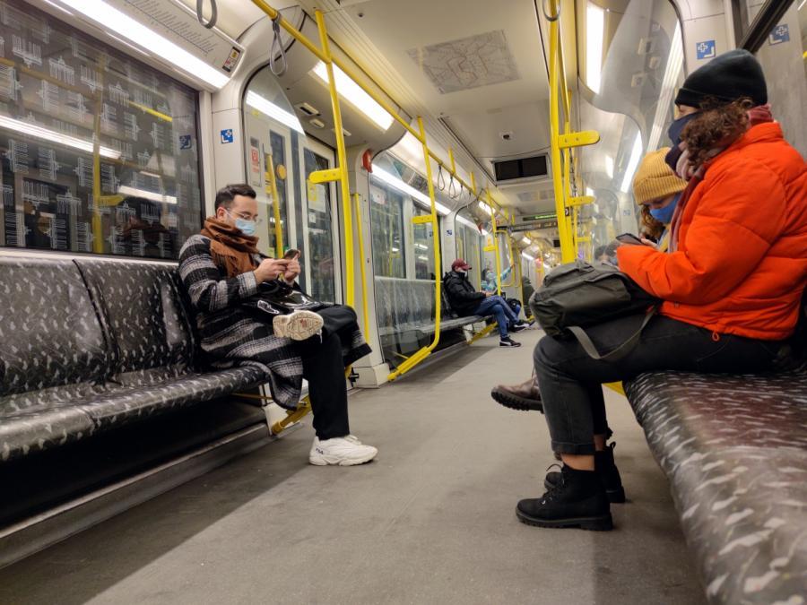 Verkehrsverbände erwarten Masken-Quote von über 95 Prozent
