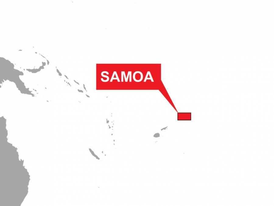 Jahr 2021 beginnt in Samoa