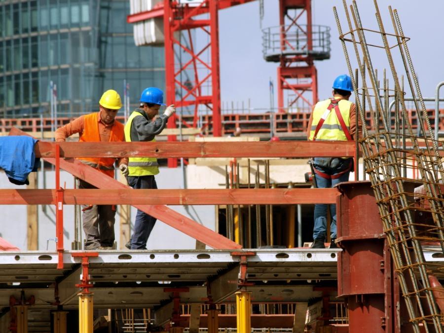 Auftragseingänge im Bauhauptgewerbe gesunken