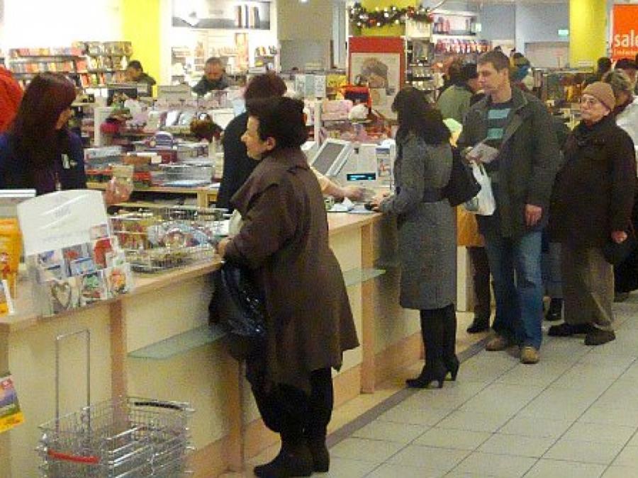 Einzelhandelsumsatz im Februar um 1,3 Prozent gestiegen