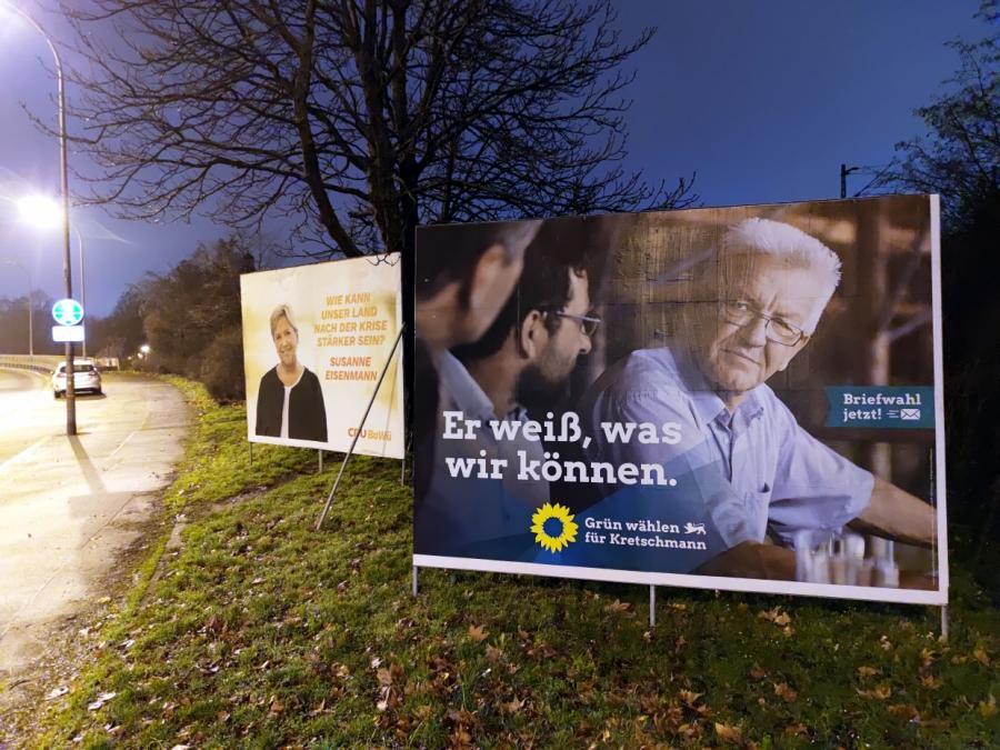 Infratest: Grüne in Baden-Württemberg unangefochten Nummer eins