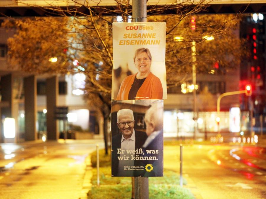 INSA: Grüne in Baden-Württemberg vor Wahltriumph