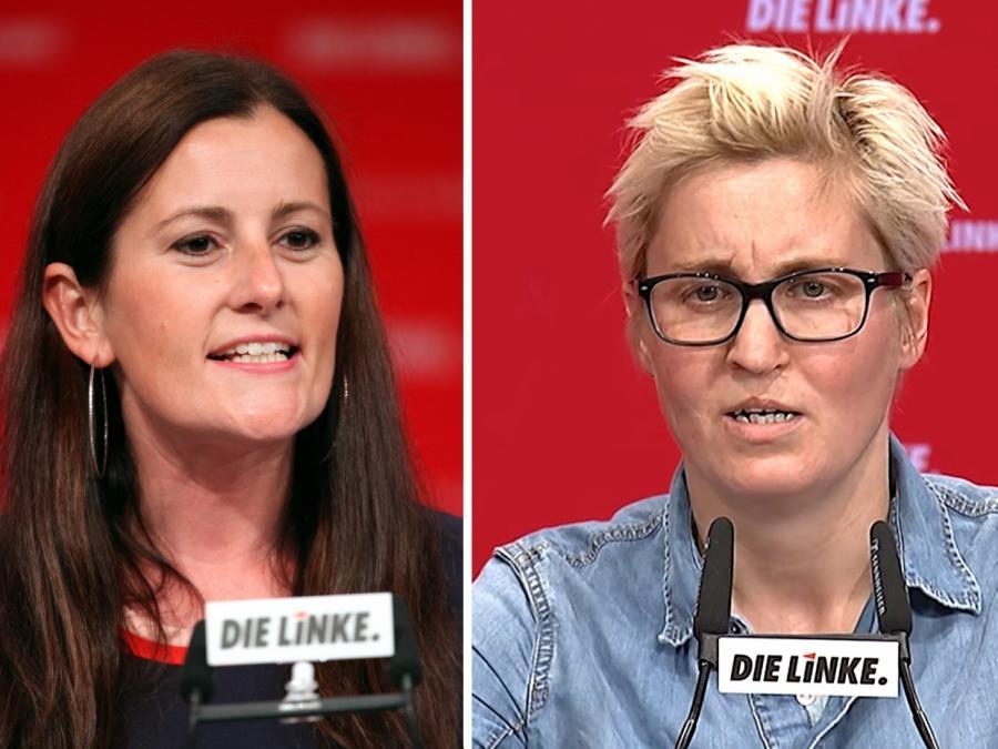 Wissler und Hennig-Wellsow zu neuen Linken-Chefinnen gewählt