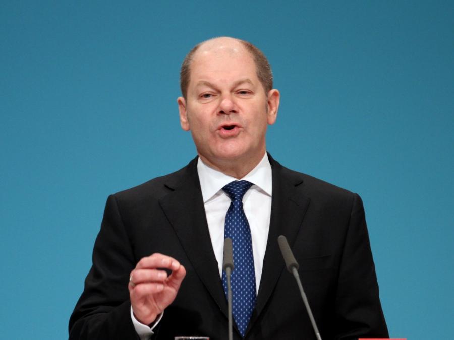 Scholz schlägt globale Mindeststeuer für Konzerne vor