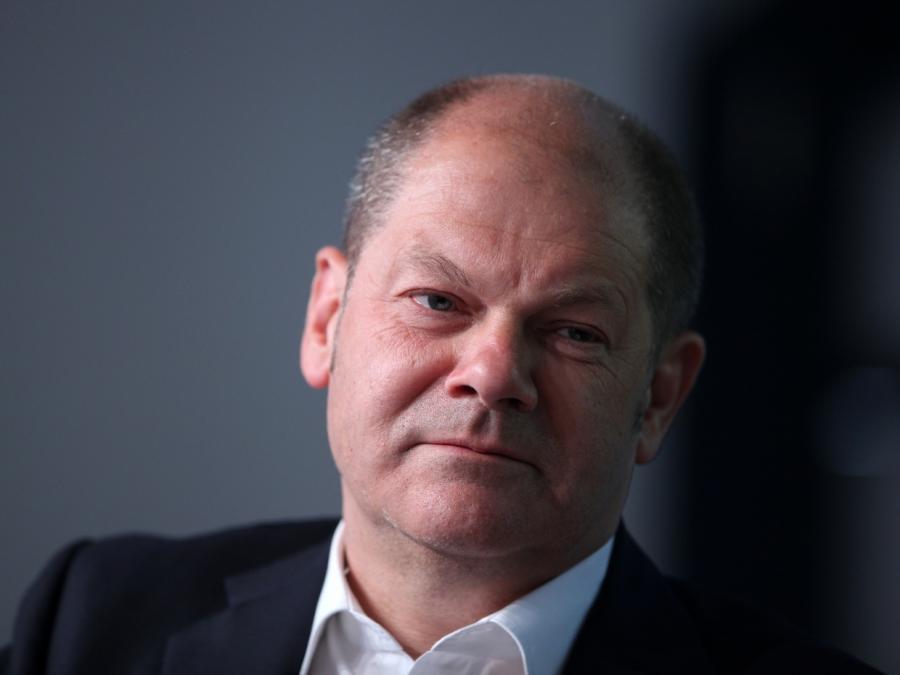 Vize-Kanzler Scholz wegen Eskalation in den USA
