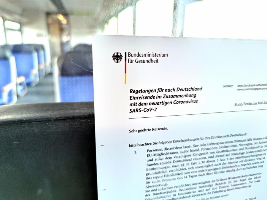 Regierung einigt sich auf Testpflicht für Einreisende ab 1. August